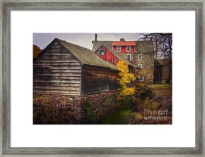 The Stover-meyers Mill Framed Print
