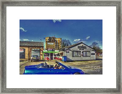 The Stow Cafe  Framed Print