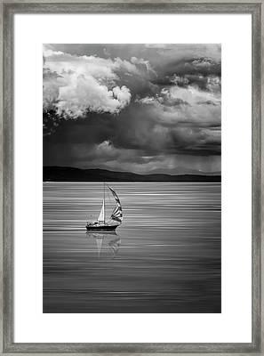 The Strait Of Georgia Framed Print