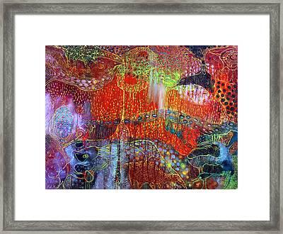 The Strange World Framed Print by Lolita Bronzini