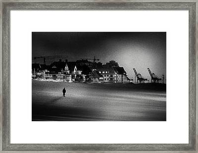 The Stranger Framed Print by Piet Flour