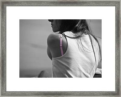 The Strap Framed Print by Edward Myers