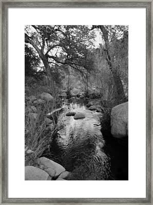 The Stream Framed Print by Bransen Devey