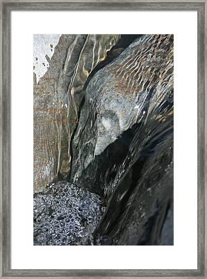 The Stream Scream Framed Print by Gary Kaylor