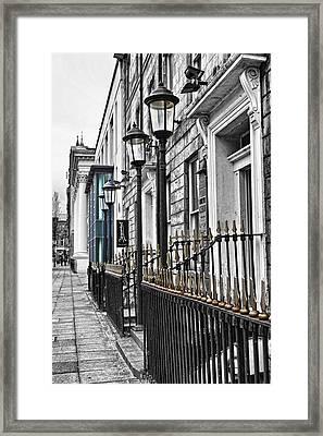 The Street Framed Print