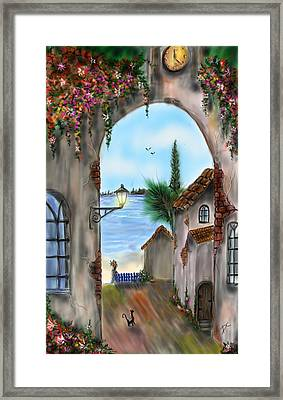 The Street Framed Print