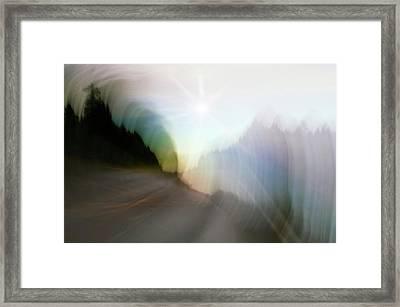 The Street Of Fantasy Framed Print