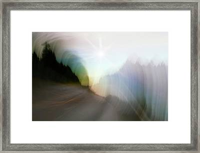 The Street Of Fantasy Framed Print by Heiko Koehrer-Wagner