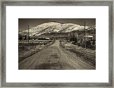 The Street Where Roo Lives Framed Print