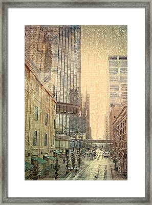 The Streets Of Minneapolis Framed Print