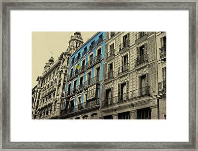 The Streets Of Toledo Framed Print by JAMART Photography