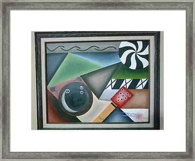 The Strike Framed Print by Raul  Vergara