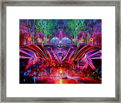 The String Cheese Incident-hulaween Framed Print by Joshua Morton