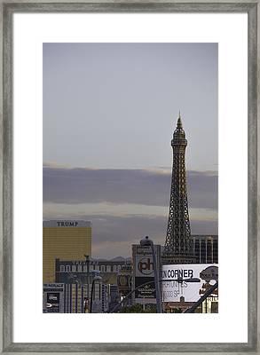 The Strip 01 Framed Print
