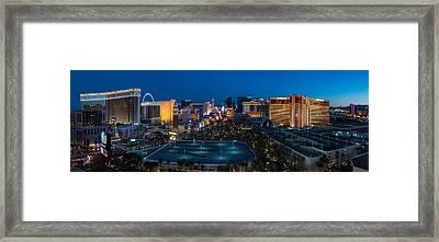 The Strip Las Vegas Framed Print by Steve Gadomski