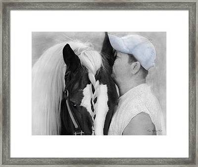 The Strong Bond Between Friends Framed Print
