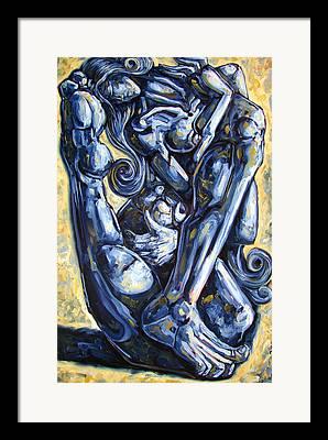 Erotic Paintings Framed Prints