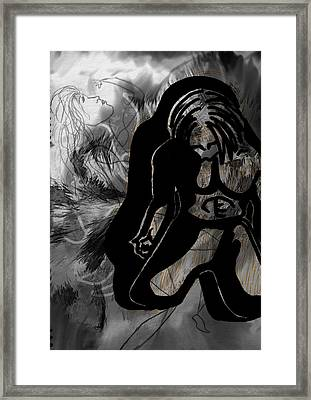 The Struggle Within Framed Print by Sheila Mcdonald