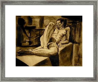 The Studio Framed Print by Dan Earle