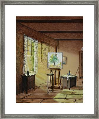 The Studio Framed Print by Don Griffiths