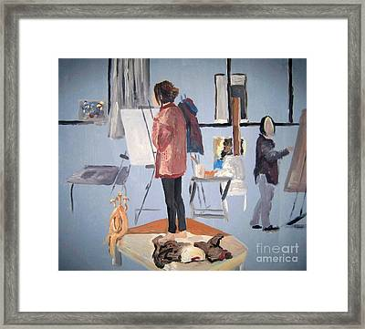 The Studio Framed Print by Reb Frost
