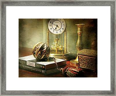 The Study Framed Print by Diana Angstadt