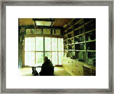 The Study Framed Print