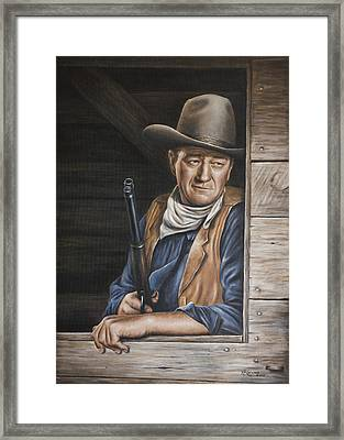 The Stuff Men Are Made Of Framed Print