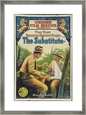 The Substitute 1916 Framed Print by Mountain Dreams