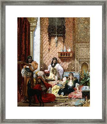 The Sultan's Favorites, 1875  Framed Print