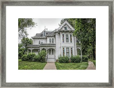 The Summer White House Framed Print
