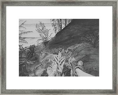 The Summit Framed Print by Jane Autry