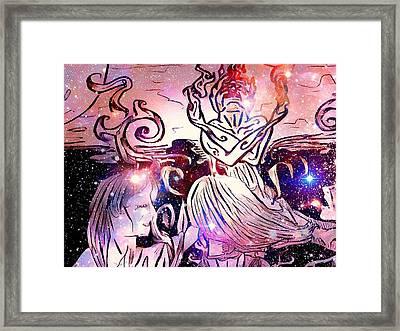 The Summoning Framed Print by Joshua Massenburg