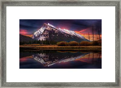 Framed Print featuring the photograph The Sun Also Rises by John Poon