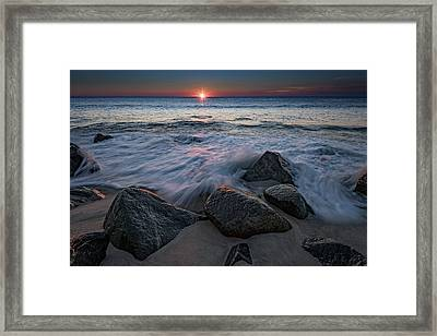 The Sun And The Tide Framed Print