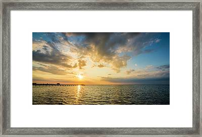 The Sun Beckons Framed Print by Marvin Spates