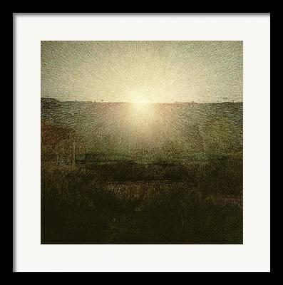 The Sun Rising Framed Prints