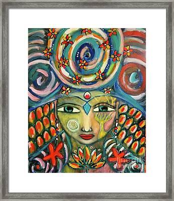The Sun Goddess  Framed Print