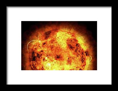 Solar System Framed Prints