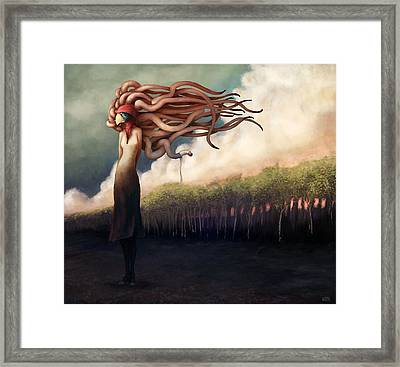 The Sundered Framed Print