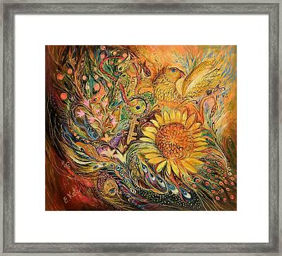 The Sunflower Framed Print by Elena Kotliarker