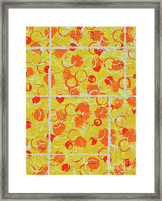 The Sunny Side Of The Street Framed Print by Alys Caviness-Gober