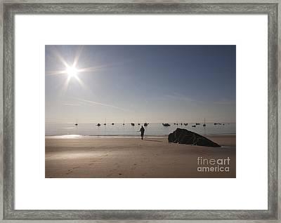 The Sunrise Framed Print by Angel Ciesniarska