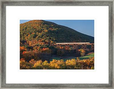 The Sunrise Express Framed Print by Angelo Marcialis
