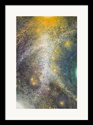 Starfield Paintings Framed Prints