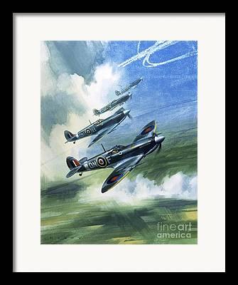 Raf Paintings Framed Prints