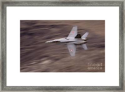 The Supersonic  Framed Print by Angel  Tarantella