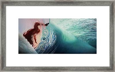 The Surface Framed Print