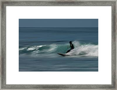 The Surfer Framed Print by R J Ruppenthal