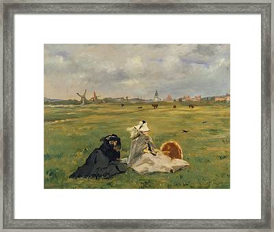 The Swallows Framed Print by Edouard Manet
